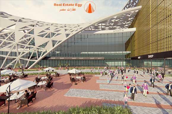 ميجا مول بيراميدز العاصمة الادارية Pyramids mega mall