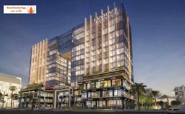 ايفولف تاور العاصمة الادرية الجديدة Evolve Tower new capital