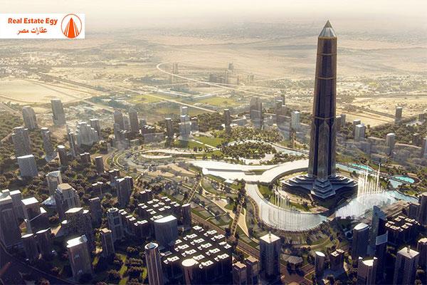 برج المسلة العاصمة الادارية